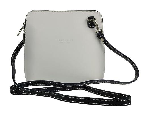37fd5f0acfcb Shoulder Bag For Women Cross Body Leather Handbag Small VERA PELLE Bags  Italians High Quality (