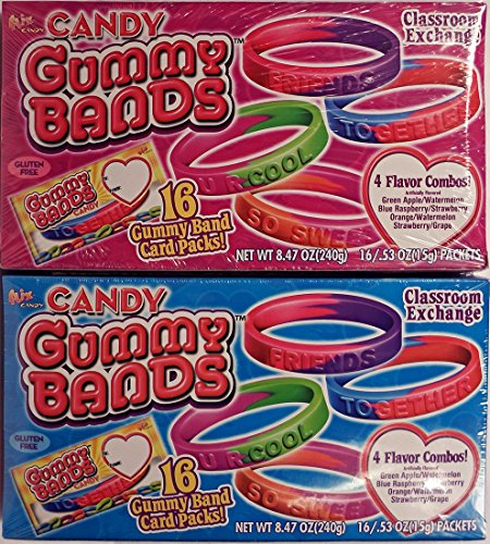 Candy-Gummy-Bands-Classroom-Exchange-Wristbands-Valentine-2-Pack