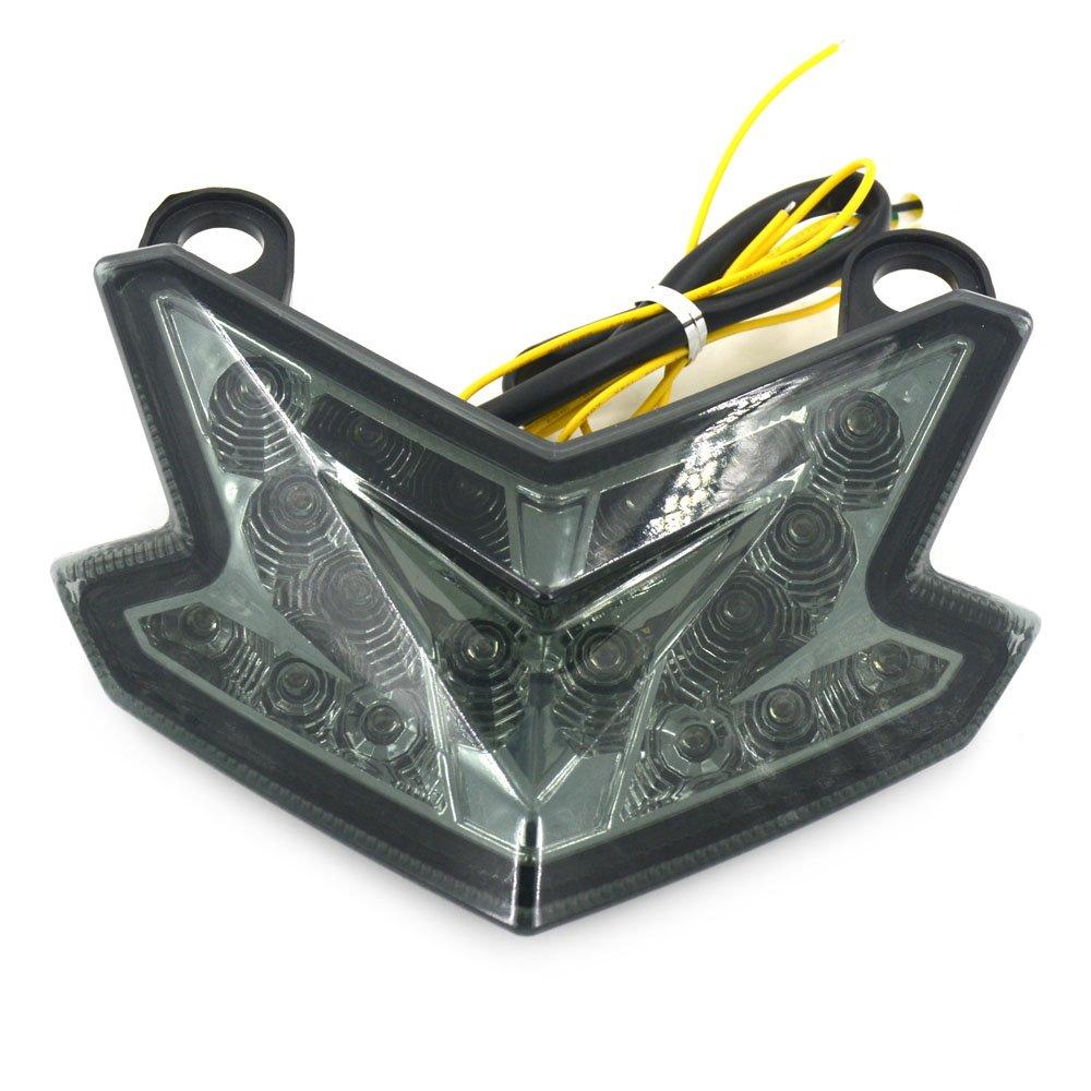 Fast Pro LED de Frein arrière Tourner Signal arrière Tail Light pour Kawasaki Ninja Zx6r Zx6001998–2002Ninja Zx9r Zx9001998–2005Zr7Zr7s 2000–2003Zzr6002005–2008
