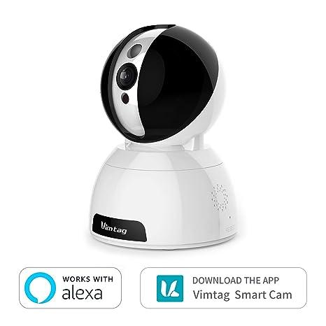 Vimtag® Dome Cámara Vigilancia IP Cámara WIFI, Smart Home ...