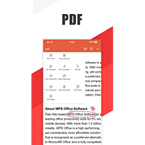 WPS Office - Word, Docs, PDF, Note, Slide & Sheet: Amazon.es: Appstore para Android
