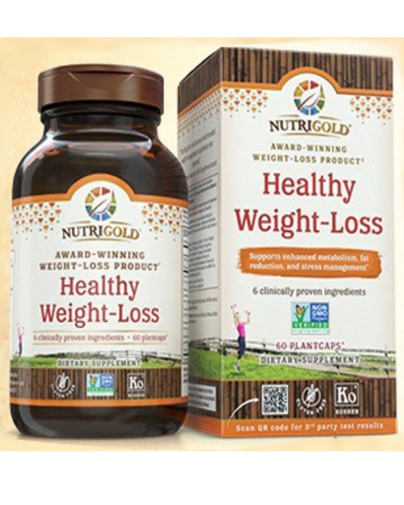 Nutrigold Healthy Weight Loss Gold Supplement With 8 Clinically Proven Multi Patented Ingredients