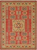 "Beautiful Traditional Serapi Cllection Design, Red 12′ 2"" x 16′ FT Area Rug – Home Décor Foor Carpet Living Dinning Room and Bedroom Rugs, Warm Up Your Home Décor Review"