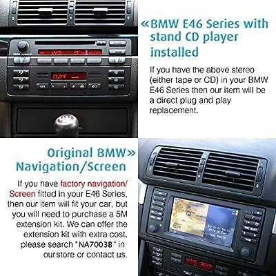 Calabaza Coche Estéreo para BMW E46 BMW 3 Series BMW M3 318/320 ...