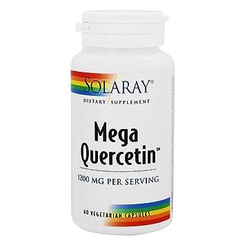 Mega Quercetin 60 Caps 600 Mg - Solaray