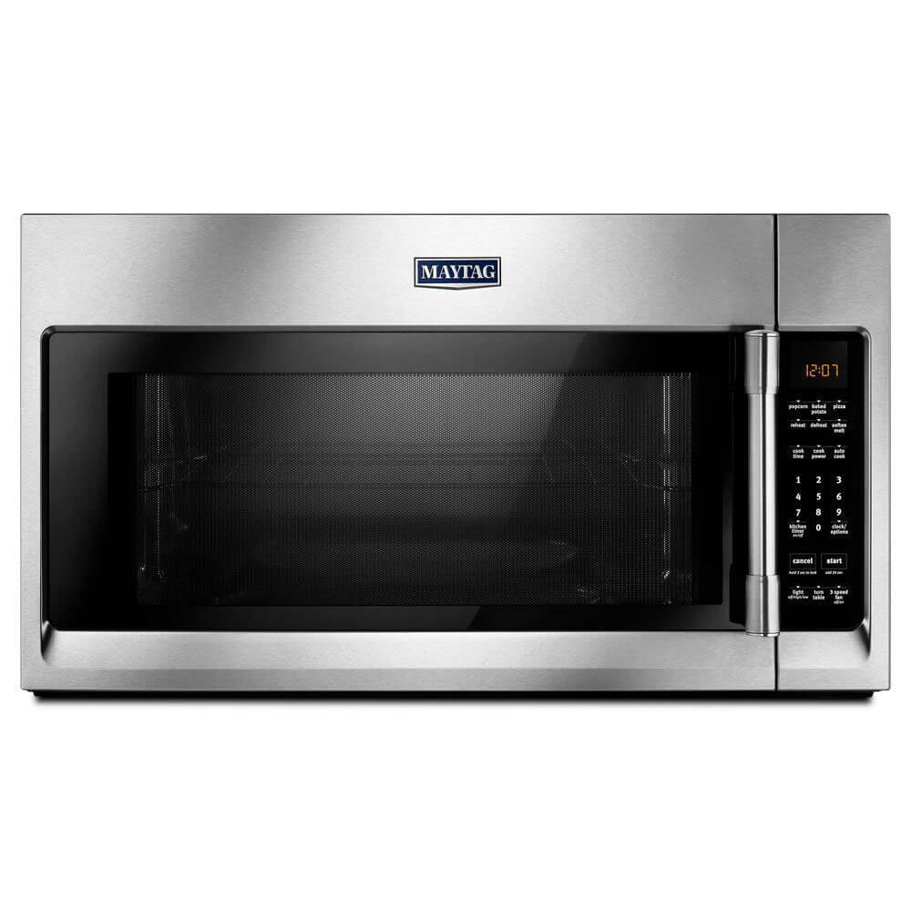 Maytag MMV4206FZ 2.0 Cu. Ft. Stainless Steel Over the Range Microwave MMV4206FZ by Maytag