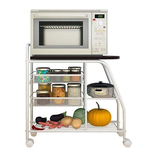 YYHSND Rack de Almacenamiento Cocina Multifuncional Rack Cocina ...