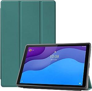 HminSen Smart Case for Lenovo Tab M10 HD 2nd Gen 10.1 Inch 2020 , Flexible TPU Matte Back Cover for Lenovo Tab M10 HD TB-X306F / TB-X306X 10.1