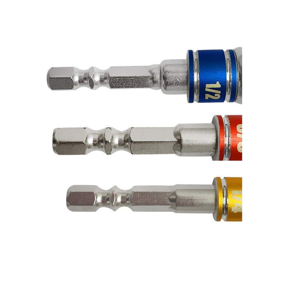 kercel.com Socket Adapter Hex Shank Drill 1/4 Drive Socket Adapter ...