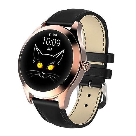 Amazon.com: KW10 - Reloj inteligente con pantalla táctil ...