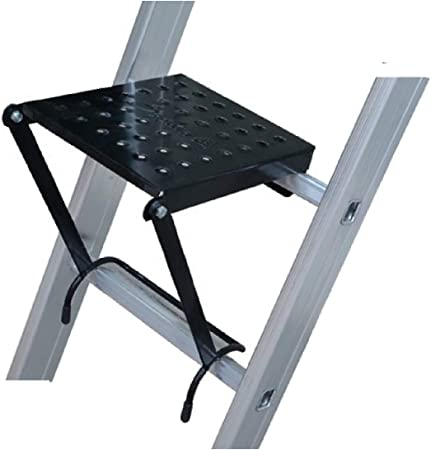 Uzman escalera plataforma de montaje para escaleras, plataforma colgante, pedestal, pedestal, escalera de mano, mano de obra, modo de trabajo, pedestal de montaje: Amazon.es: Hogar