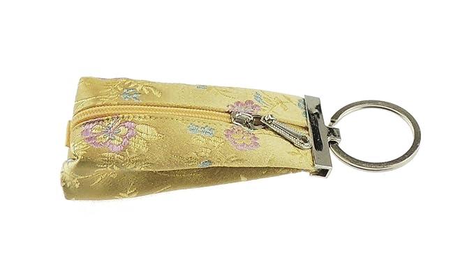 Glamour Girlz 9 cm Oriental 100% Seda Imprimir Zip Hasta ...