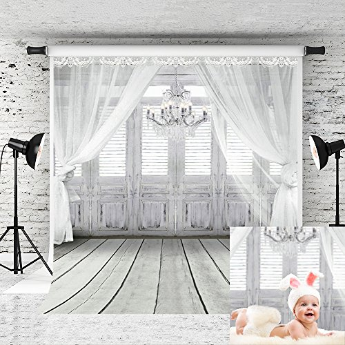 Kate 5x7ft Backdrop Curtain for Photography Baby Shower Backdrop Chandelier Newborn Photography Props by Kate