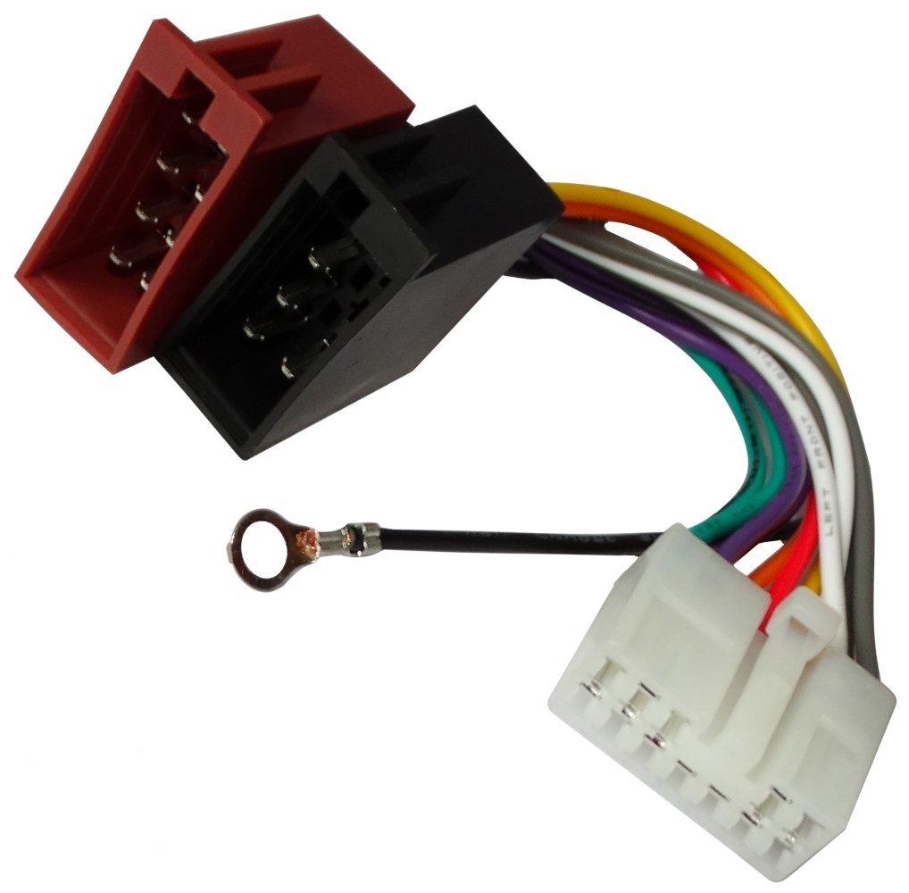 vehiculos C11919 AERZETIX Adaptador cable enchufe ISO para radio de coche