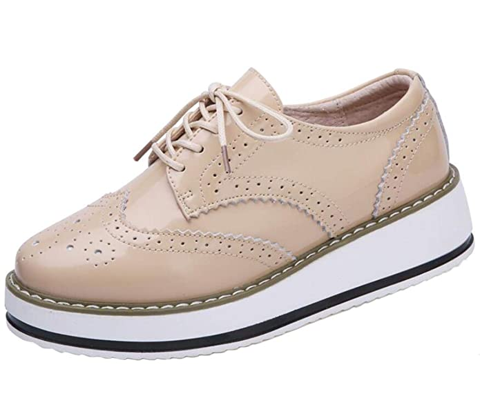 DADAWEN Women's Platform Shoes