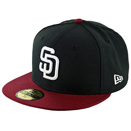 free shipping ca05a 16c28 Image Unavailable. Image not available for. Color  New Era 59Fifty San  Diego Padres Fitted Hat ...
