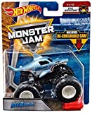 (US) Hot Wheels Monster Jam 2018 Epic Additions Megalodon (with Re-Crushable Car) 1:64 Scale