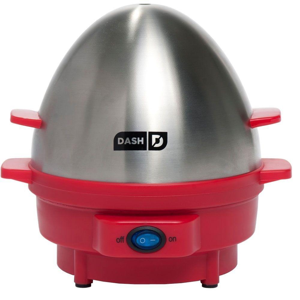 Dash Kitchen 7-Egg Rapid Egg Cooker, Red
