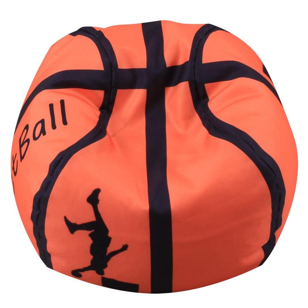 Hunpta - Puf para niños, diseño de peluche, estilo baloncesto, B ...