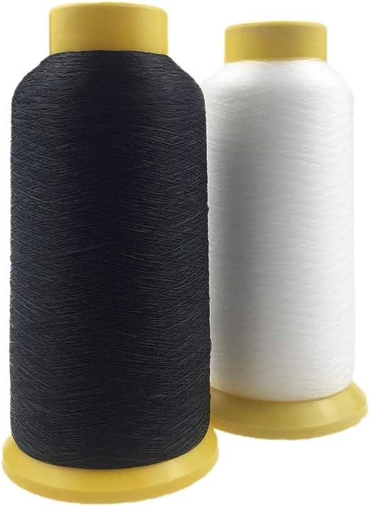 Hilo de coser 0.12mm 6600m Transparente Negro Nylon Monofilamento ...