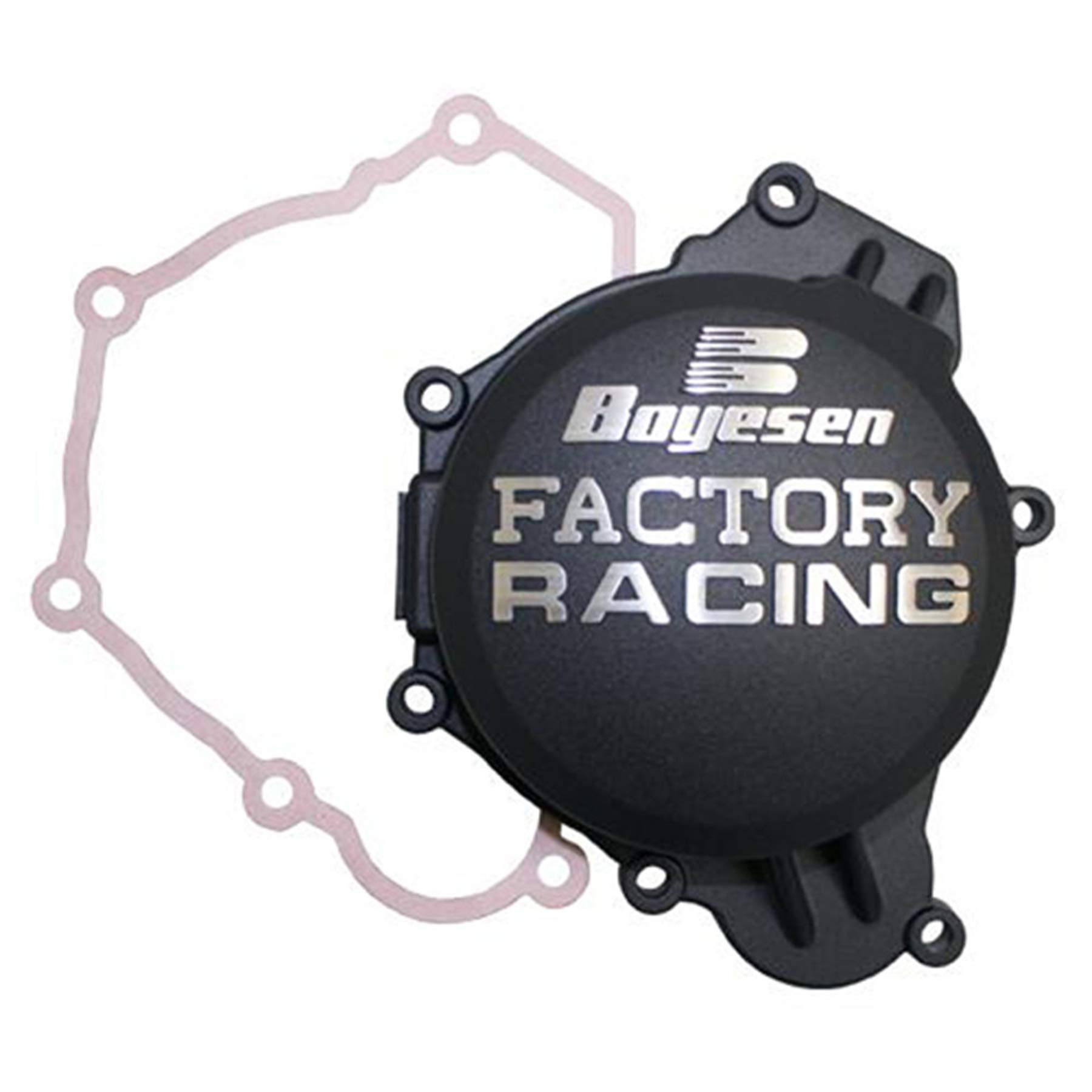 Factory Ignition Cover - Black 2016 Husqvarna TE125 Offroad Motorcycle