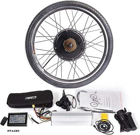 CSCbike MTB Kit de conversión de Bicicleta eléctrica de montaña 36 ...