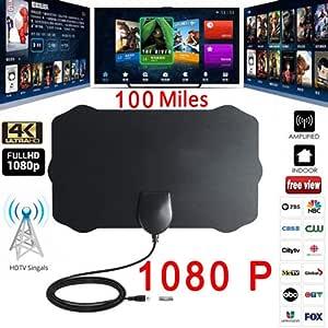 vpuquuz Antenas de TV Clave de TV Clave HDTV TV Gratis Antena ...