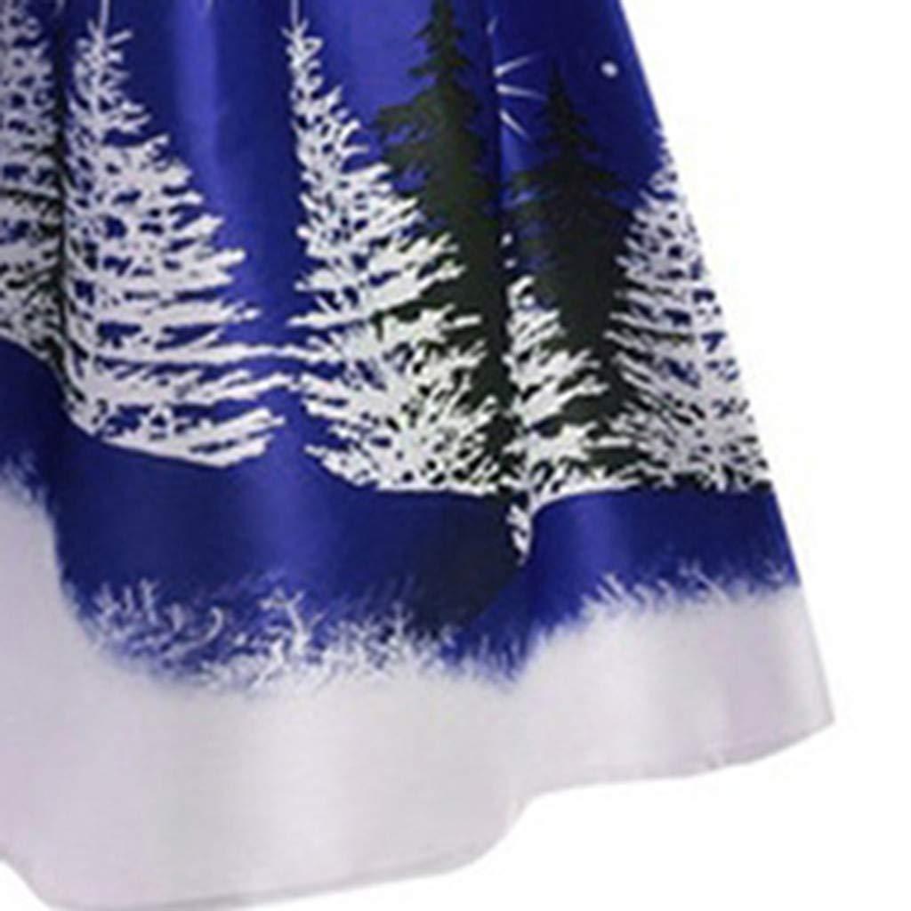 Abiti Ragazza Cerimonia Vestito Donne Vestiti Costume Renna Eleganti Ragazze Gonna Sera Dress Principessa Abbigliamento Taglie Forti//Multicolore Vestiti Donna Natale Abito Elegante S-5XL