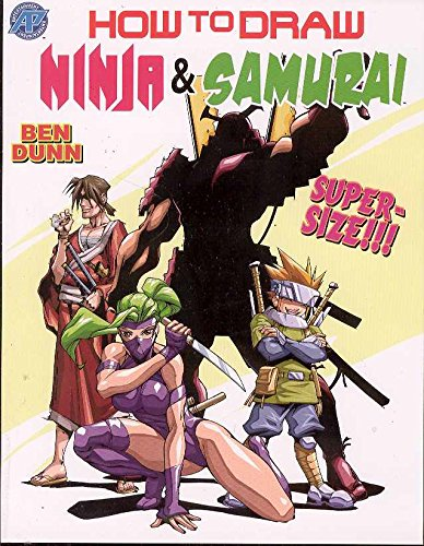 How To Draw Ninjas And Samurai Supersize: Amazon.es: Ben ...