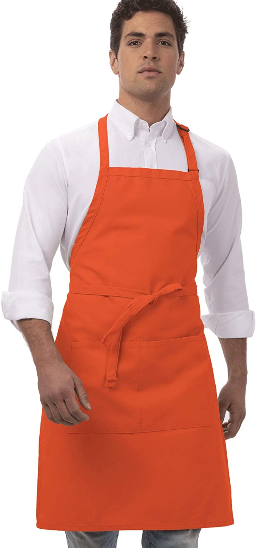 Delantal con babero ajustable Colour by Chef Works B194