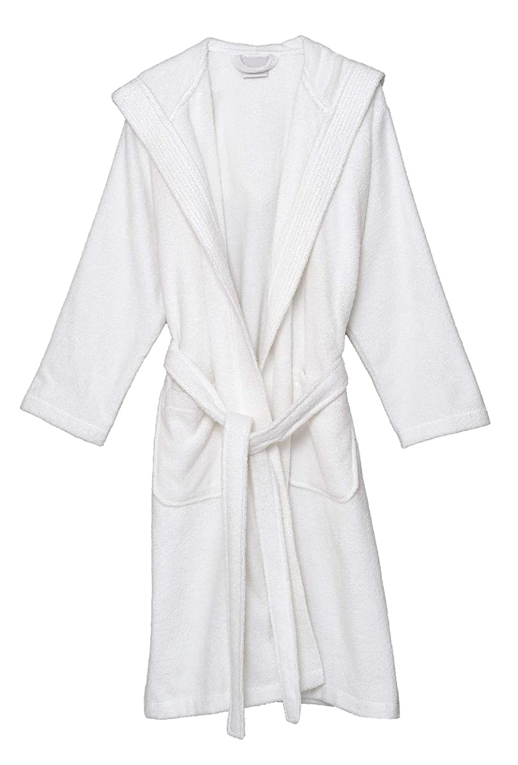 b2319e106c23 White TowelSelections TowelSelections TowelSelections Men's Hooded Robe,  Cotton Terry Cloth Bathrobe, Made in Turkey 3f53b4