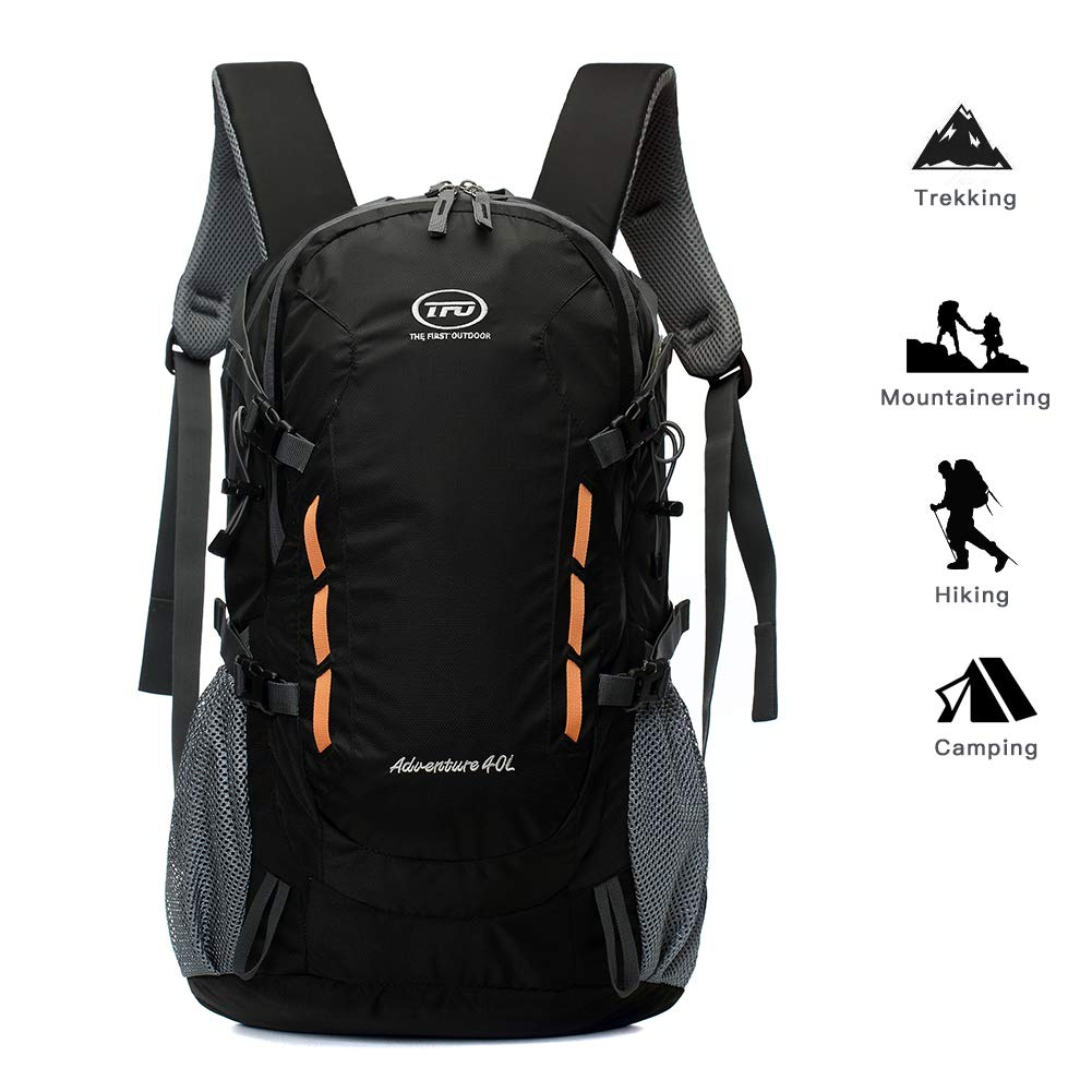 TFO Lightweight Hiking Backpack, Sport Travel Mountaineering Camping Climbing Outdoor Sport Backpacks