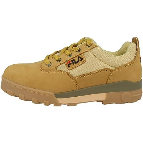 Fila - Zapatillas de Cuero para Hombre, Color Beige, Talla 41 EU