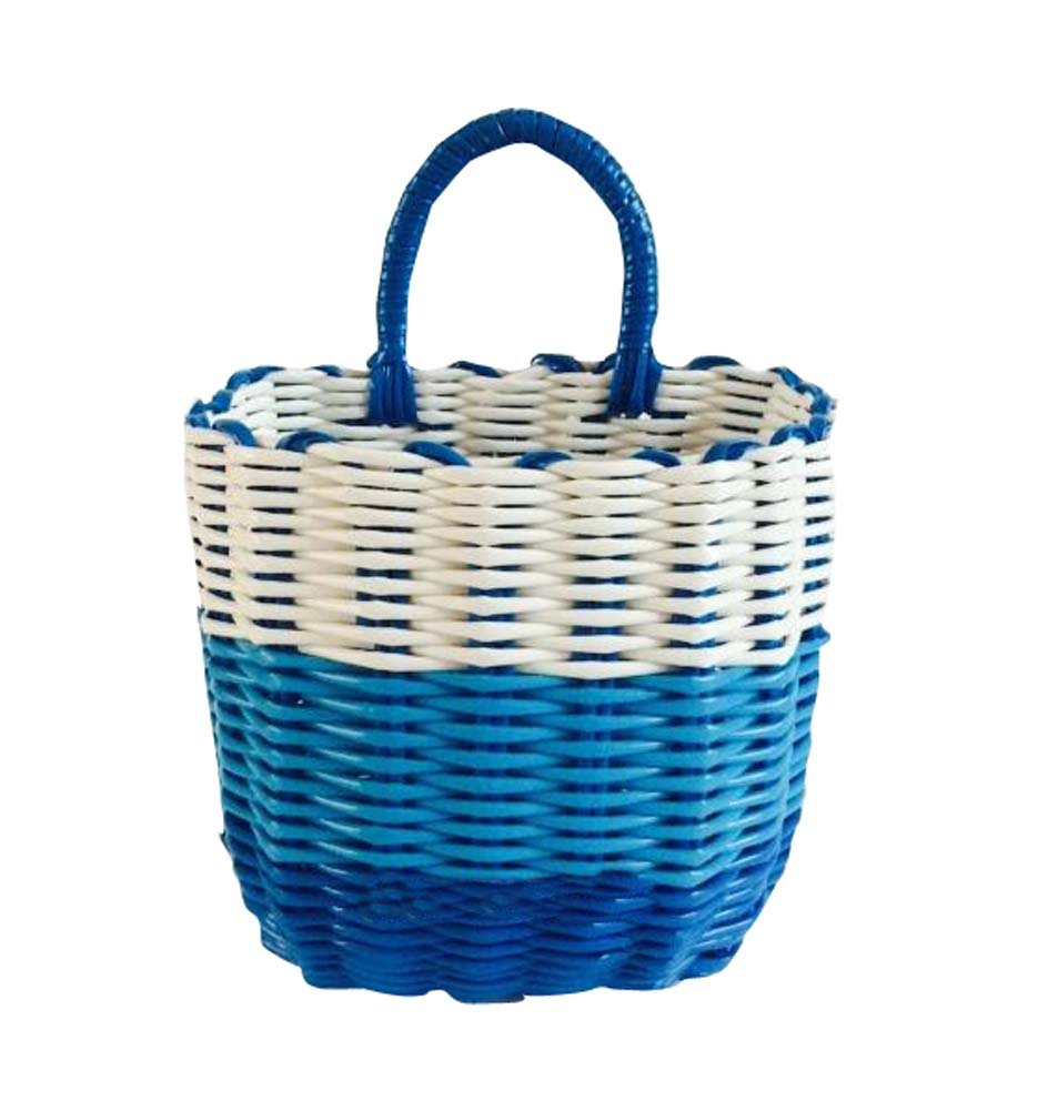 Bright Color Home Storage Basket Small Items Organizer Wall Hanging Organizer