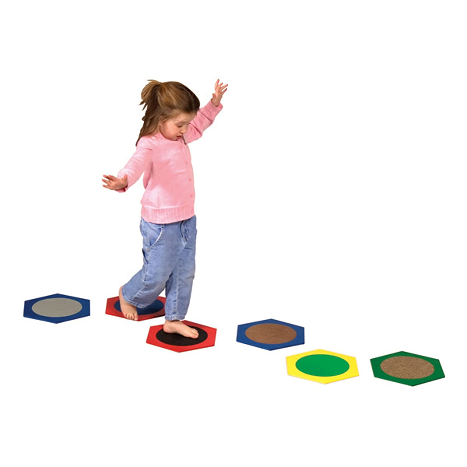 Amazon Guidecraft Sensory Stepping Stones Toys & Games