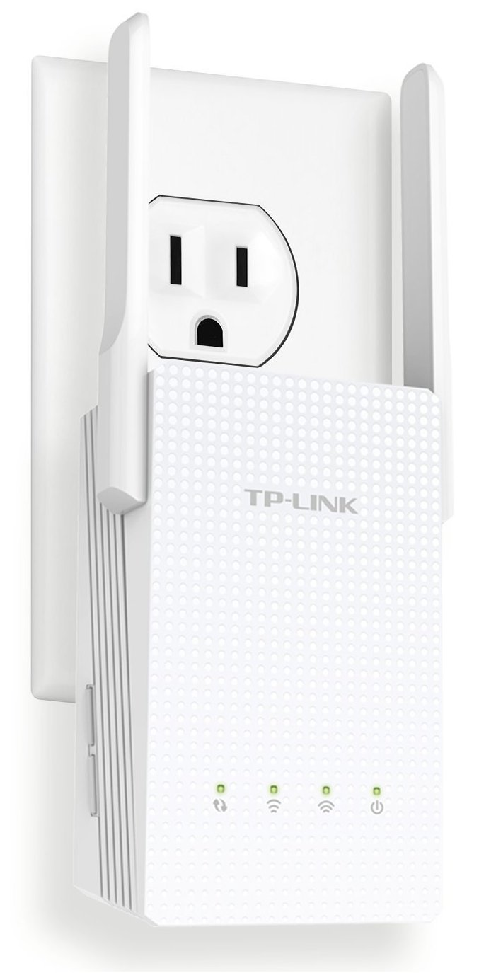 TP-Link AC750 Dual Band Wi-Fi Range Extender w/ Gigabit Ethernet Port (RE210) by TP-LINK