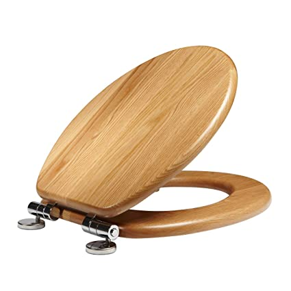 Roper Rhodes Traditional Solid Oak Soft Close Toilet Seat