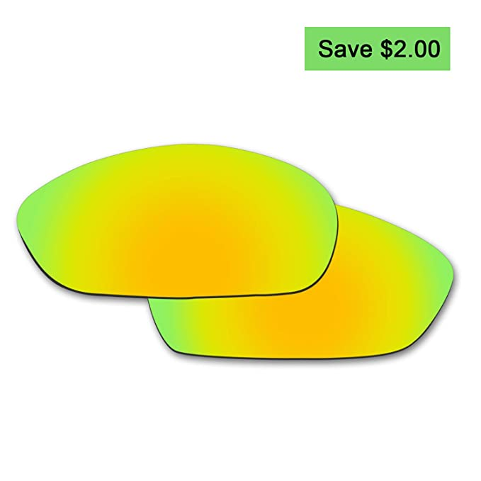 aab33ca763 Image Unavailable. Image not available for. Color  Fiskr Anti-saltwater  Polarized Replacement Lenses for Oakley Whisker Sunglasses-Various Colors