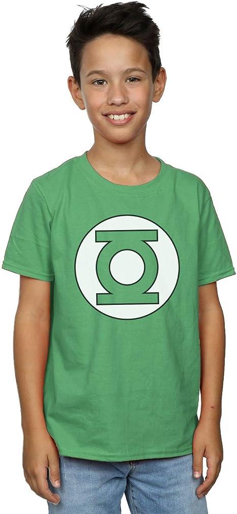 Green Lantern Modern Symbol Kids T-Shirt Green
