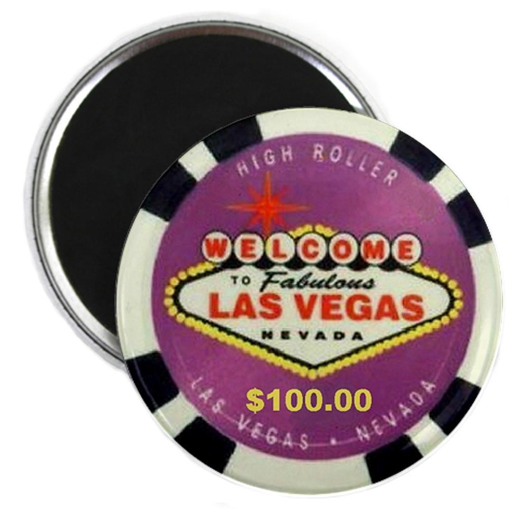 CafePress diseño de logotipo de cartel de las Vegas - Imán ...
