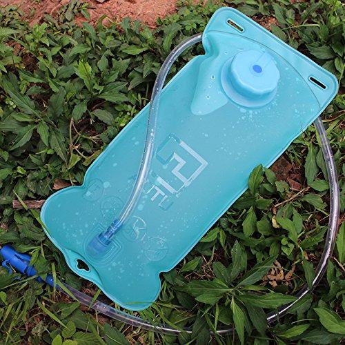 missofsweet 2L Outdoor Radfahren Blase Wasser Reservoirbeutel Wandern Klettern Tasche Wasser Tasche BPA-frei & FDA genehmigt, ideal für Radfahren, Wandern, Laufen, Camping, Walking