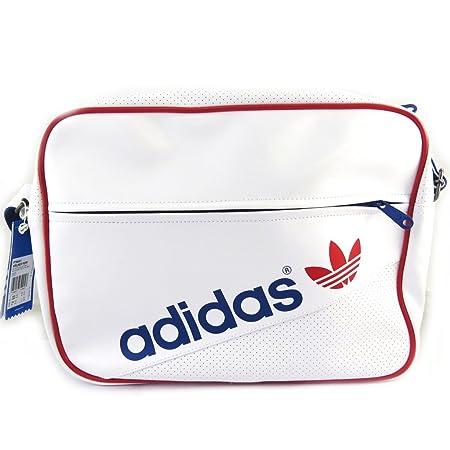 56e08b190cabd Umhängetasche  Adidas rot weiß blau.  Amazon.de  Koffer