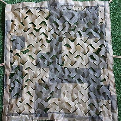 BAIYING Malla Sombra De Red Protector Solar Selva Camuflaje Pérgola Cubrir Cuerda de Nylon Tela Oxford, 16 Tallas (Color : Desert Beige, Size : 6x5m): Amazon.es: Hogar
