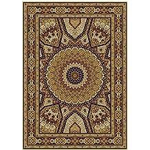 Silk Persian Qum Design Area Rug 2x4 Beige Rug Ivory Traditional Rugs  Hallway Small Rugs 2x3