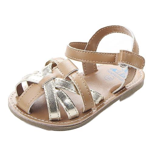 08fafc4a Zapatos Bebe niña Verano Switchali Recién Nacido Nina Primeros Pasos  Zapatos Bebe con Suela Floral Princesa