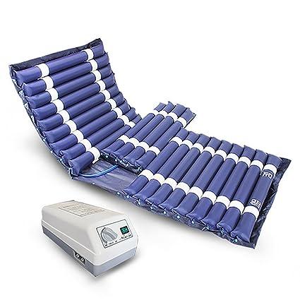 RCHL Colchón Antiescaras De Aire Dinámico con Compresor Digital Sensitiv Tratamiento Alivio del Dolor Prevenir Decubitus
