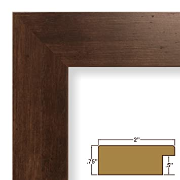 Amazon.com - 24x28 Picture / Poster Frame, Smooth Wood Grain Finish ...