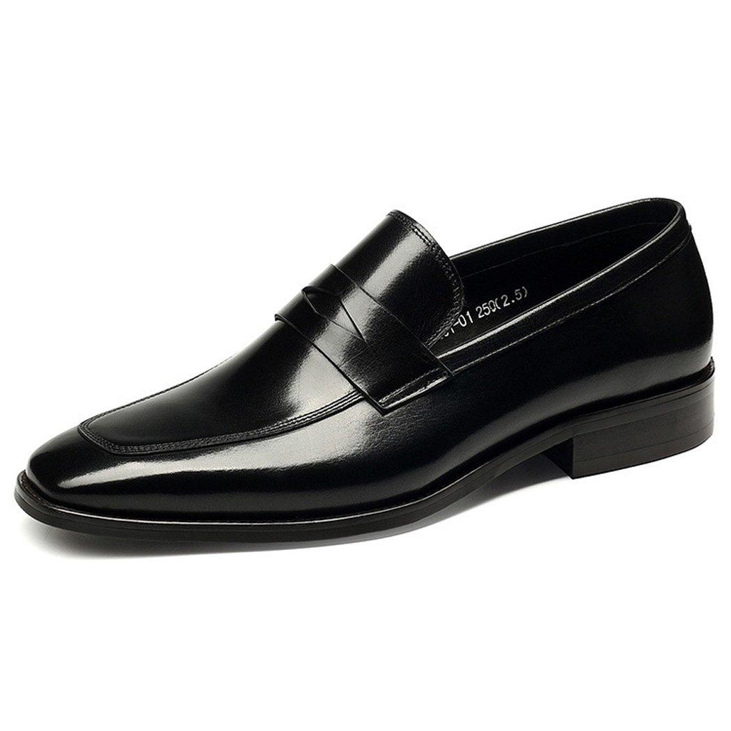 Zapatos de Hombre Primavera Verano Zapatos Formales Oxfords Negro Rojo 44 EU|Negro