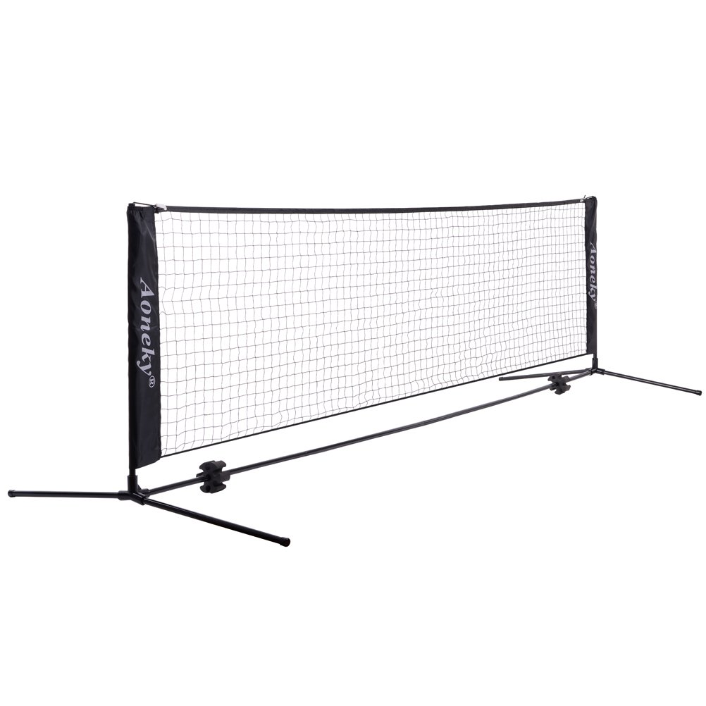 35dba3548f0 Aoneky Mini Portable Tennis Net for Driveway - Kids Soccer Tennis Net  product image