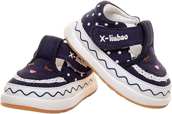 Baby Girls Cotton Velcro Sneakers